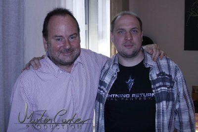 Charles Cecil und SHORTREVIEW Redakteur Sascha Leupold